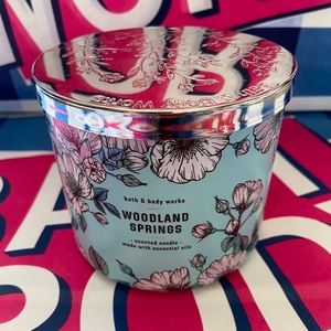 Woodland springs 3 wick candle